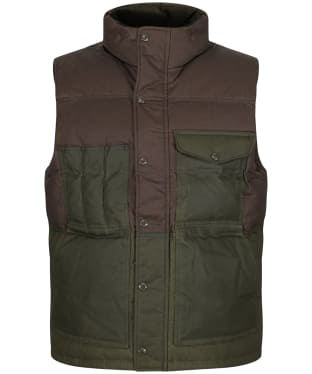 Men's Filson Down Cruiser Vest - Otter Green