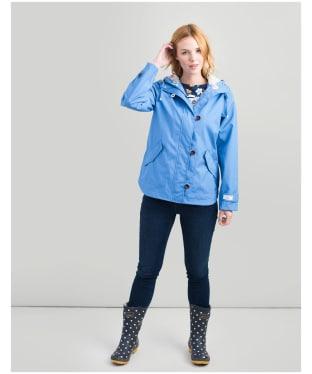 Women's Joules Coast Waterproof Jacket - Blue