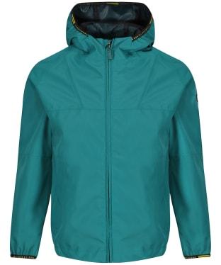 Boy's Barbour International Grange Waterproof Parka Jacket, 2-9yrs - Rich Green