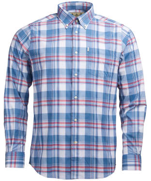Men's Barbour Minster Performance Shirt - Rich Red