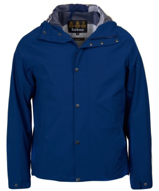 Men's Barbour Noden Waterproof Jacket - Inky Blue
