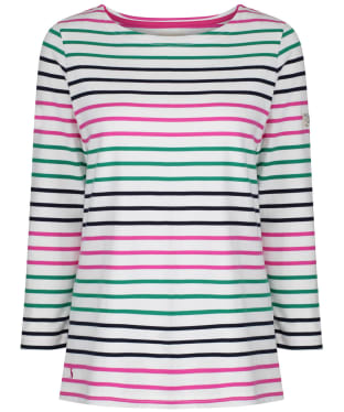 Women's Joules Harbour Top - Pink / Green / Blue
