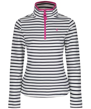 Women's Joules Fairdale Zip Neck Sweatshirt