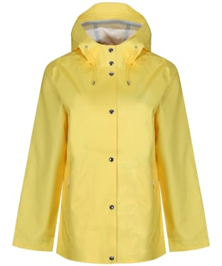 Women's GANT Rain Coat - Lemon