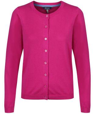 Women's Joules Skye Cardigan - Pastel Pink