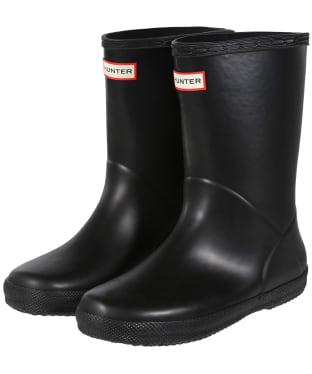 Hunter Kids First Classic Wellington Boots - Black