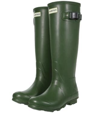 Women's Hunter Norris Field Neoprene Wellington Boots - Vintage Green