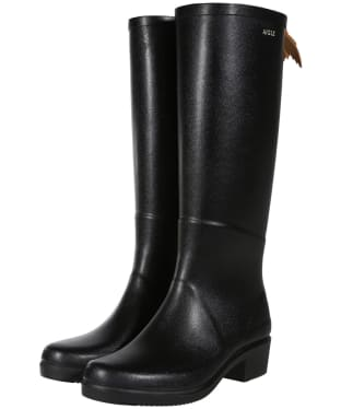 Women's Aigle Miss Juliette A Wellingtons - Black