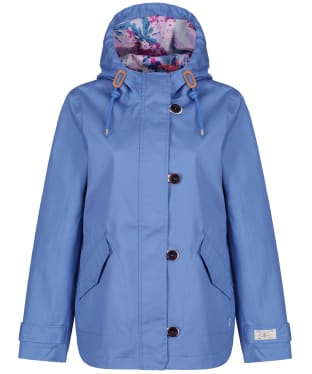 Women's Joules Coast Waterproof Jacket - Blue