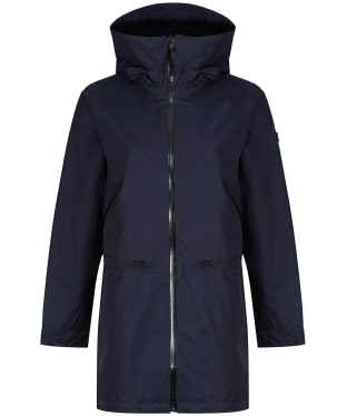 Women's Aigle Brokfielder New Waterproof Jacket - Dark Navy