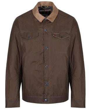 Men's Barbour x Sam Heughan Waxed Jacket - Dark Sand
