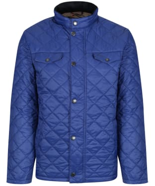 Men's Barbour x Sam Heughan Dean Quilted Jacket - Inky Blue