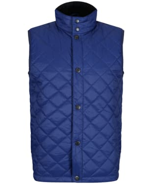 Men's Barbour x Sam Heughan Cagney Gilet - Inky Blue