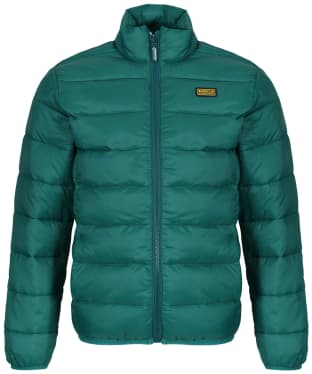 Boy's Barbour International Reed Quilted Jacket, 10-15yrs - Rich Green