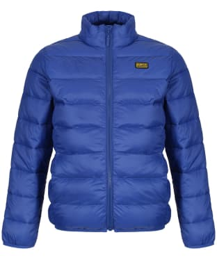 Boy's Barbour International Reed Quilted Jacket, 10-15yrs - Charge Blue
