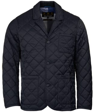 Men's Barbour Kenfig Quilted Jacket - Navy