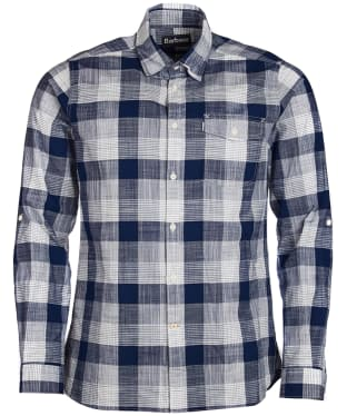 Men's Barbour Pier Shirt - Navy