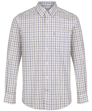 Men's Barbour Tattersall 4 Regular Shirt - Sandstone