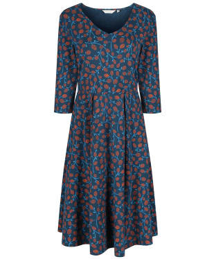 Women's Seasalt Meandering Dress - Pussy Willow Light Squid