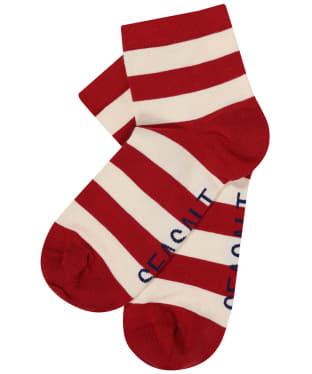 Women's Seasalt Cornish Striped Socks - Cornish Rudder