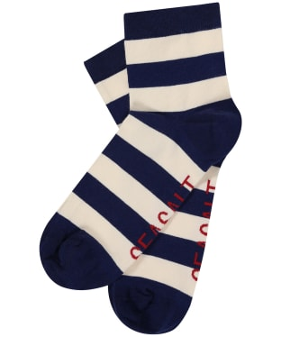 Women's Seasalt Cornish Striped Socks - Cornish Marine