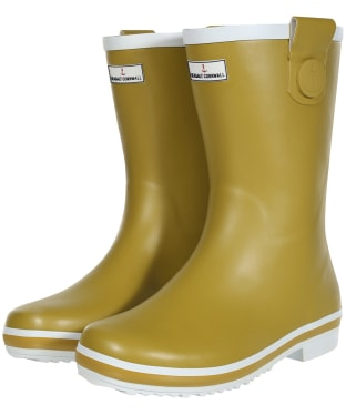 Women's Seasalt Deck Wellies - Pear