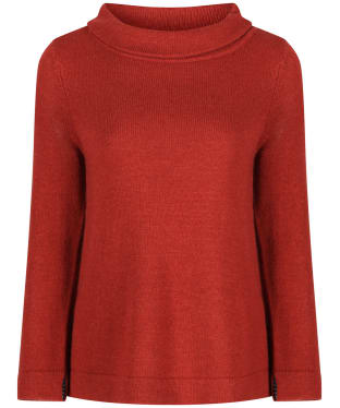 Women's Seasalt Gulf Jumper - Dark Terracotta
