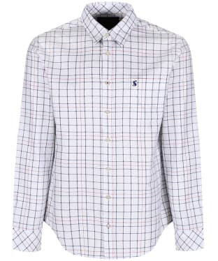 Men's Joules Welford Shirt - Chalk Multi Check