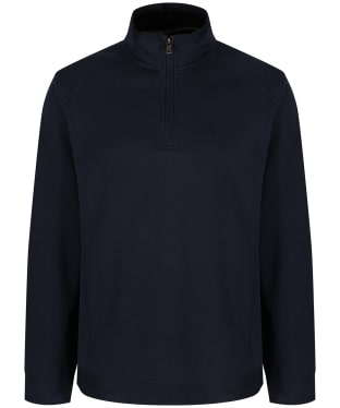 Men's Joules Dalesman Zip Neck Sweatshirt - Navy