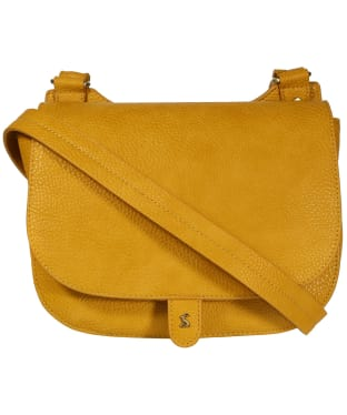 Women's Joules Kelby Bright Saddle Bag - Antique Gold