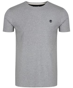 Men's Timberland Dunstan River Crew Slim Tee - Grey Heather