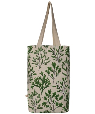 Women's Seasalt Canvas Shopper Bag - Seaweed Hedgerow