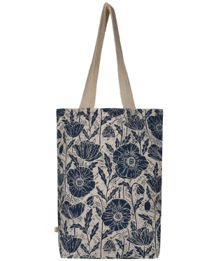 Women's Seasalt Canvas Shopper Bag - Lino Poppies Dark Night