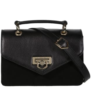 Women's Fairfax & Favor Loxley Mini Leather Bag - Black Leather