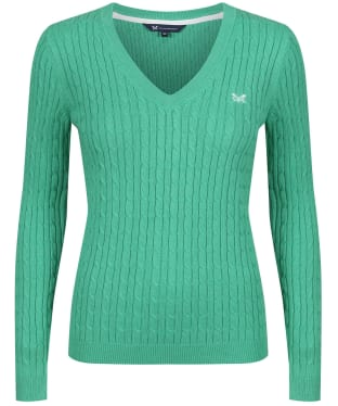Women's Crew Clothing Heritage Cable Sweater