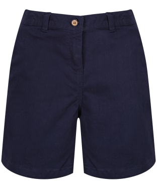 Women's Joules Cruise Mid Length Chino Shorts - French Navy