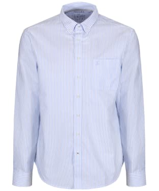 Men's Joules Laundered Oxford Shirt - Blue Stripe