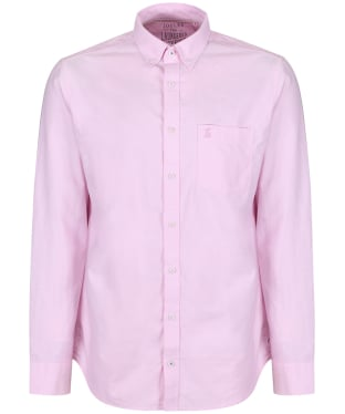 Men's Joules Laundered Oxford Shirt - Pastel Pink
