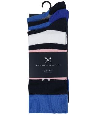 Men's Crew Clothing 3 Pack Socks
