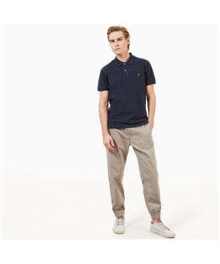 Men's Timberland Millers River Pique Slim Fit Polo Shirt - Dark Navy