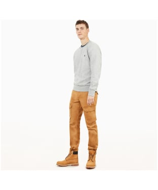 Men's Timberland Exeter River Crew Sweater - Grey Heather