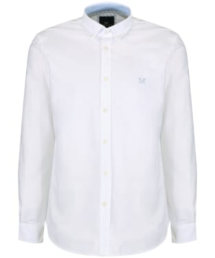 Men's Crew Clothing Plain Oxford Shirt