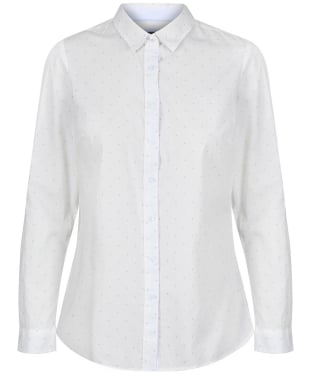 Women's Crew Clothing Lulworth Shirt - White Dot