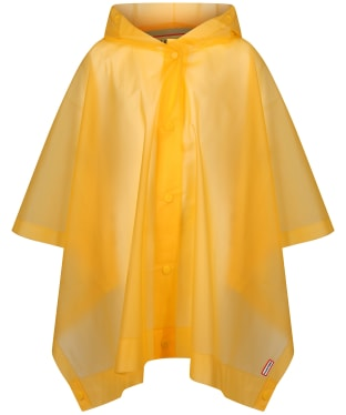 Hunter Original Kids Vinyl Poncho 6-8yrs - Yellow