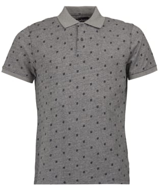 Men's Barbour Thornwaite Polo Shirt - Grey Marl