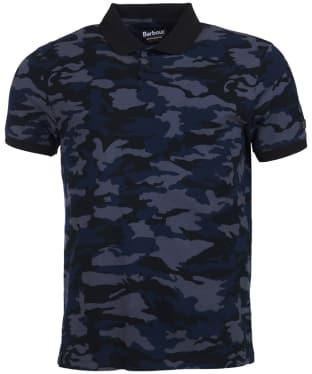 Men's Barbour International Camo Polo Shirt