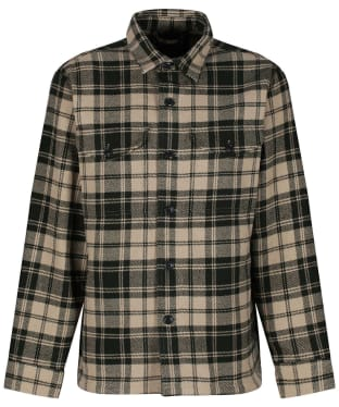 Men's Filson Deer Island Jac-Shirt - Dark Cream / Green