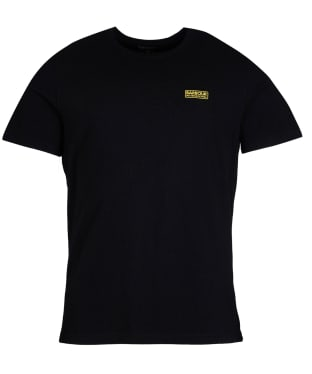 Men's Barbour International Essential Small Logo T-Shirt - Black