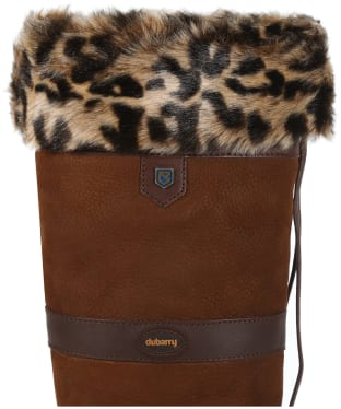 Women's Dubarry Boot Liners - Leopard