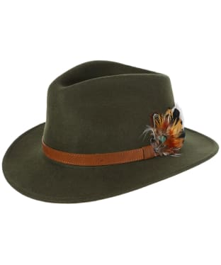 Alan Paine Richmond Felt Hat - Olive